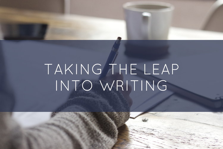 Taking the Leap Into Writing